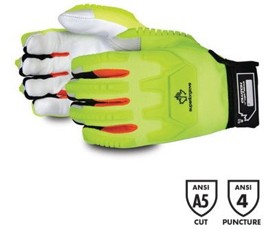 product image of the Clutch Gear® Mechanics Winter Gloves with Impact Protection