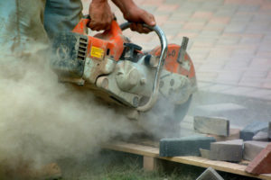 Crystalline Silica Dust Caused By Cutting