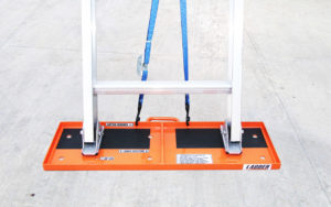 The Ladder LockDown setup on a concrete surface
