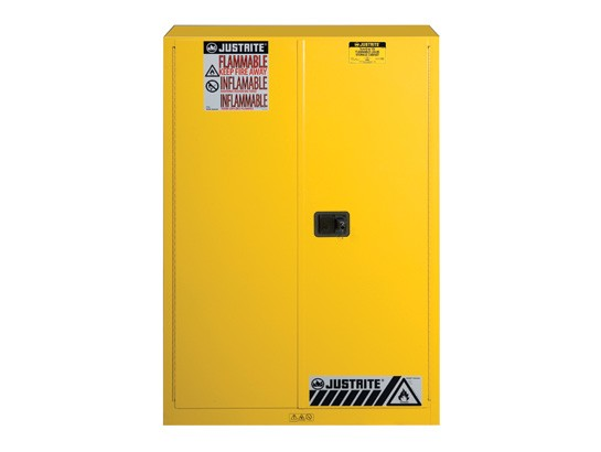 Sure-Grip® EX Flammable Safety Cabinet, 45 gallon, 2 manual-close doors