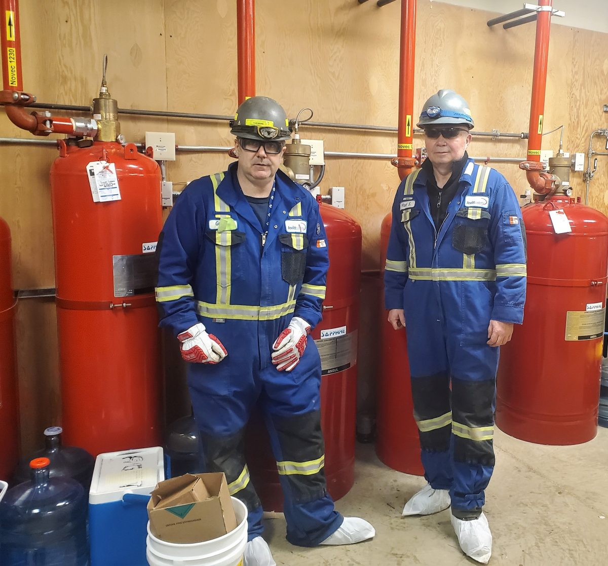 levitt safety fire suppression servicing team