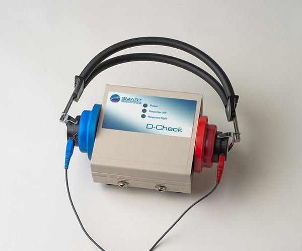 d-check bio-accoustic simulator with headphones product image