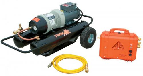 twin air compressor system product image