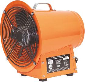 Air Systems Model SVF-8AC Steel Axial Fans