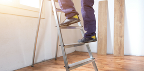 Traditional Ladders vs. Work Platforms