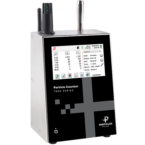 Particles Plus AQM Series Remote Particle Counter & Environmental Monitor