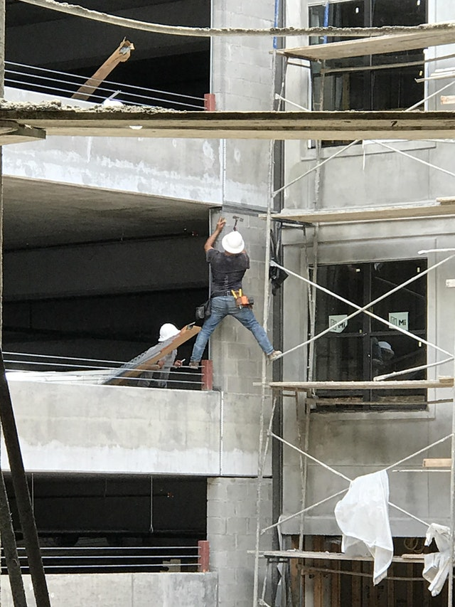 dangerous working at heights