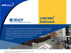 Brady LINK360® Software Overview
