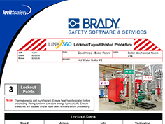 Brady LINK360® Lockout/Tagout Procedures