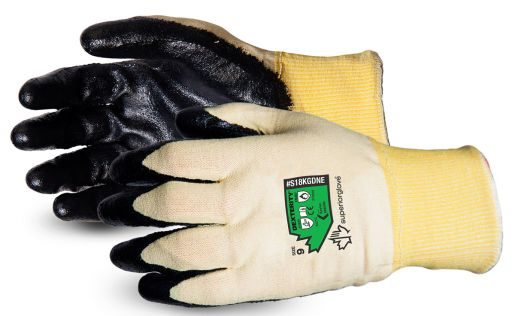 Superior Glove Dexterity® Deluxe 18-Gauge Flame-Resistant Arc Flash Gloves with Neoprene Palms
