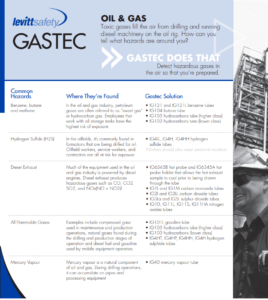 gastec gas detection oil and gas
