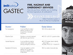 Gastec for Fire & Emergency Services