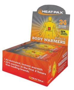 body warmers by heat pax