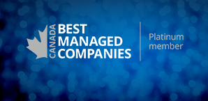 We've joined Canada's Best Managed Companies' Platinum Club!