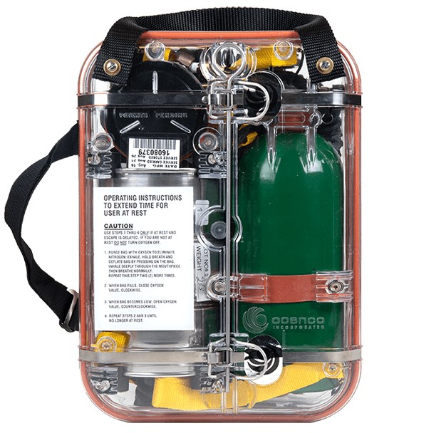 ocenco eba 6.5 self-contained self rescuer product image