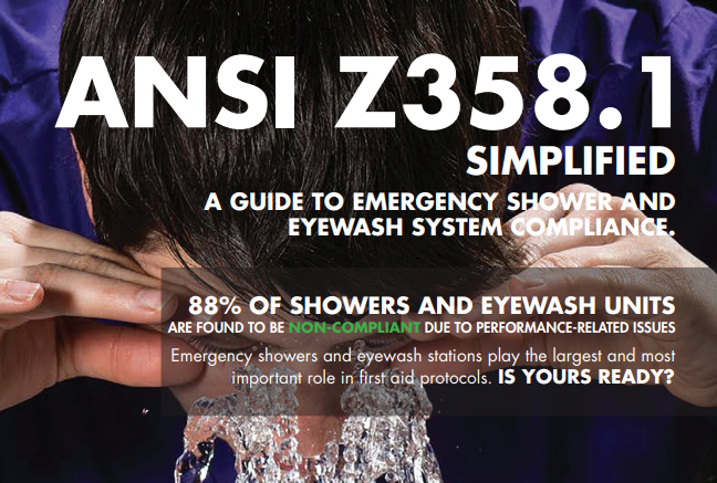 emergency shower and eyewash guide