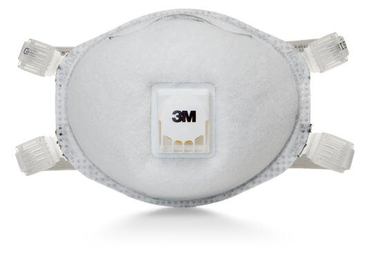 n95 respirator with an exhalation valve