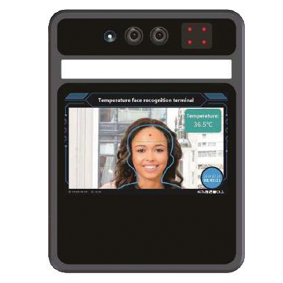"""single person facial regocnition thermal scanner with 5"""" screen"""