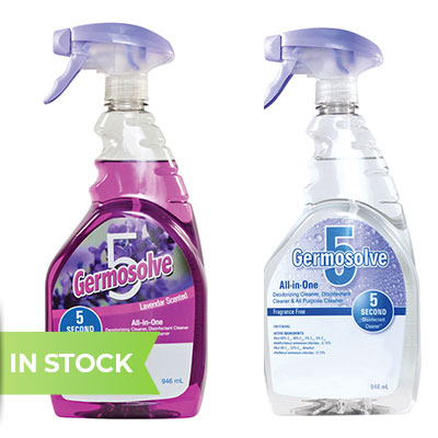 Germosolve 5 all in one disinfectant, lavender scent