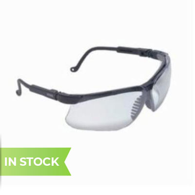 Uvex genesis S3200X by Honeywell is a wraparound style safety glass featuring exceptional peripheral vision and protection. The Genesis features adjustable nose piece, arms, and temples to provide a customized fit. An elastomer browguard helps to deflect and diffuse impacts ensuring exceptional protection.