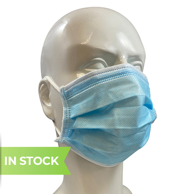 Commercial grade 3 ply disposable surgical mask