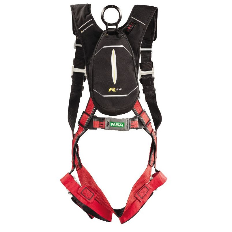 product image of MSA latchway Personal Rescue Device with EVOTECH harness