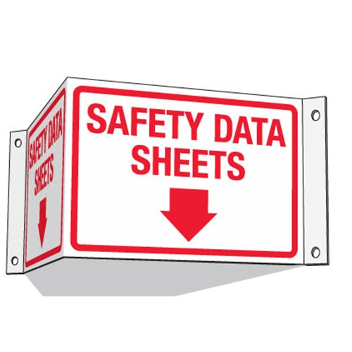 safety data sheets sign
