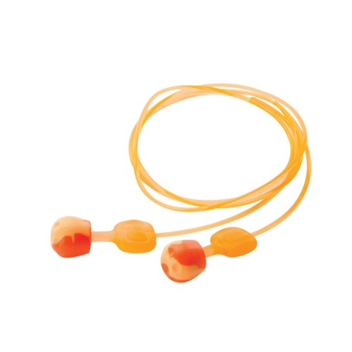 trustfit pod push in ear plugs with cords
