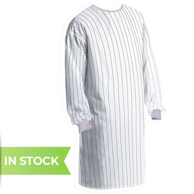 Image of non surgical medical reusable isolation gown