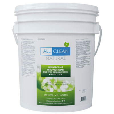 product image for all clean bulk hand and surface wipes