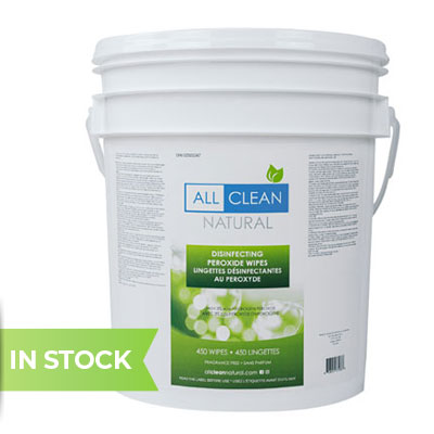 All Clean Natural Disinfecting Wipes, 450 Count
