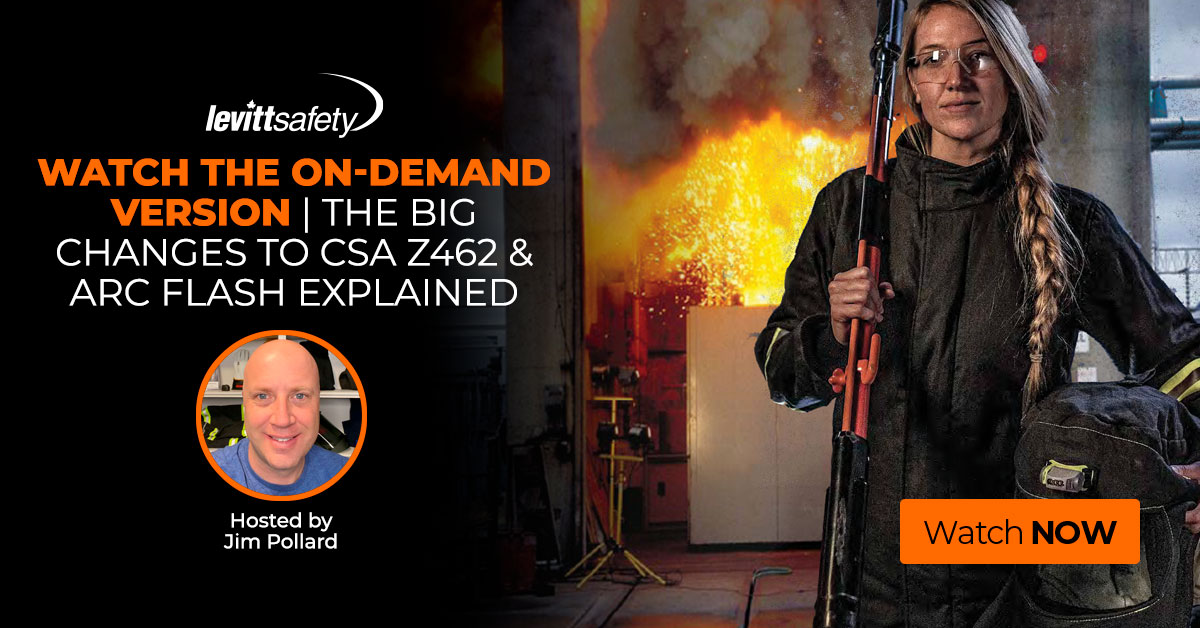 arc flash webinar the big changes to CSA Z462 and arc flash explained with Jim Pollard