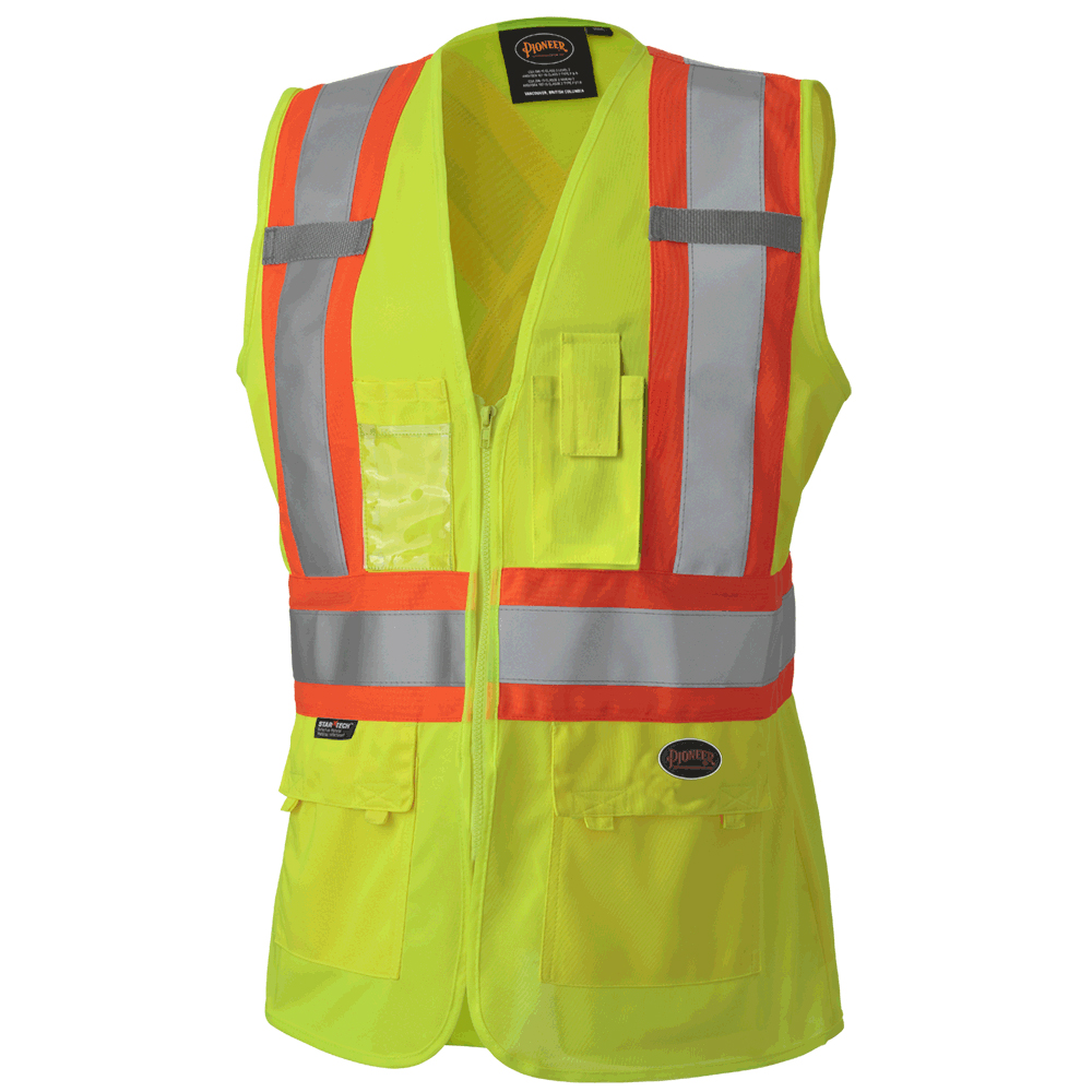 product image of Pioneer Women's High Visibility Yellow Safety Vest