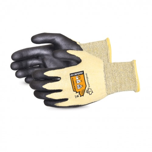 Dexterity® Nitrile Palm-Coated Cut-Resistant String-Knit Glove product page
