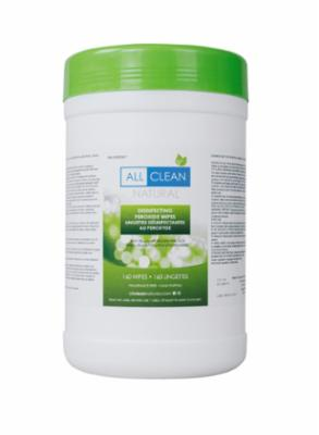 All Clean Natural Disinfecting Wipes, 160 Count