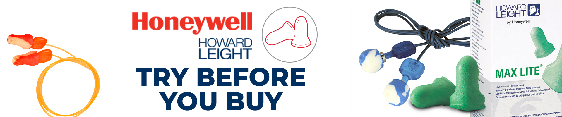 Honeywell Howard Leight try before you buy ear plug event