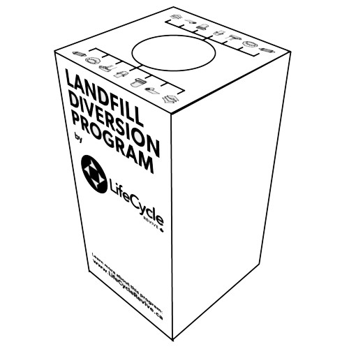 lifecycle revive landfill diversion boxes