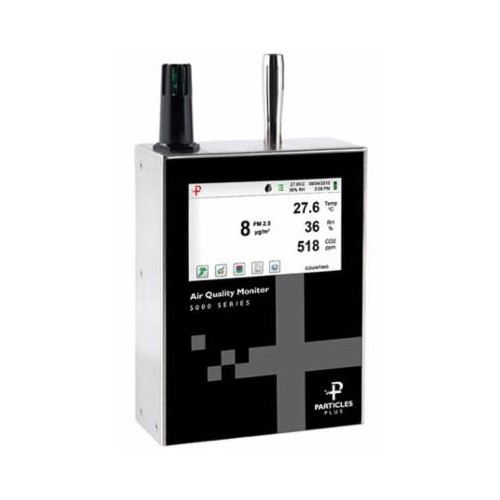 product image of particles plus 5301 air quality monitor