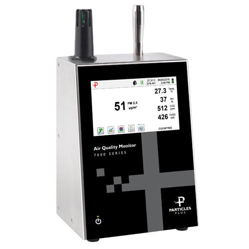 product image of particles plus 7301 air quality monitor